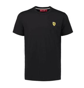 Мъжка тениска FERRARI Classic - черна - Formula 1